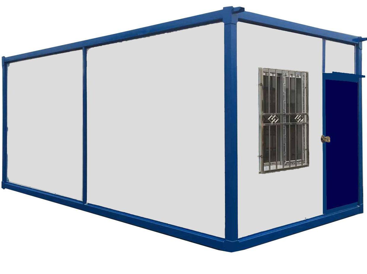 一种可移动的房屋建筑——双流集装箱