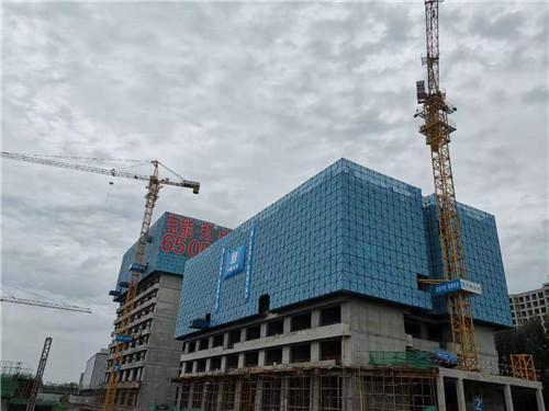 郑州国际金贸中心建设