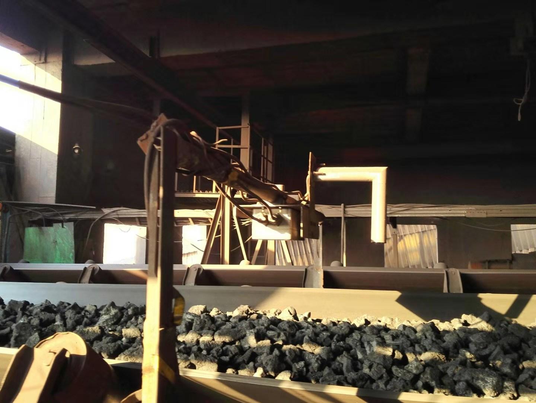 日照鋼鐵高爐焦炭水分測量項目合作案例