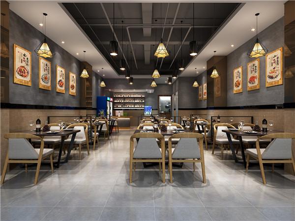 現代餐廳小吃店工裝公司