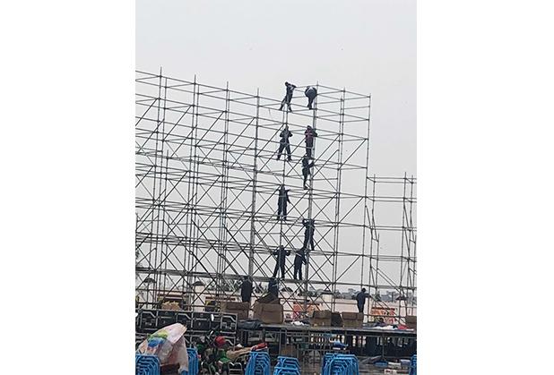西昌舞台桁架搭建