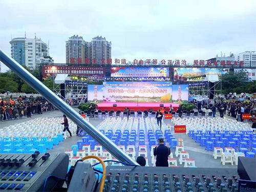 西昌舞台搭建公司厂区展示