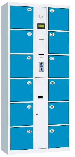 保密柜系列/投币存包柜