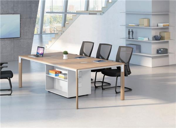 伊雅系列/钢木会议桌椅/洽谈桌