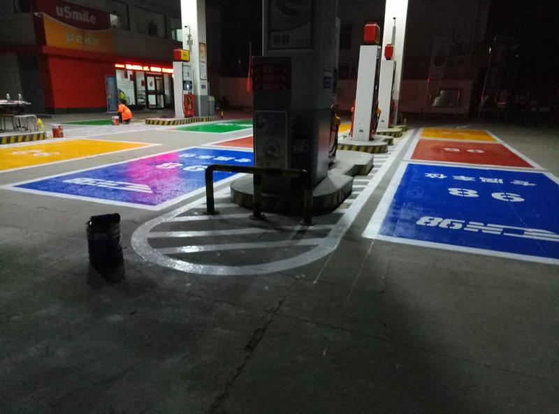 汉中交通道路标线施工