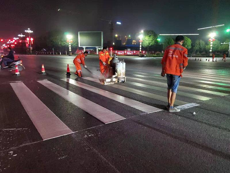 不了解道路标线的规划设置?那就跟汉中道路标线公司一起来看吧