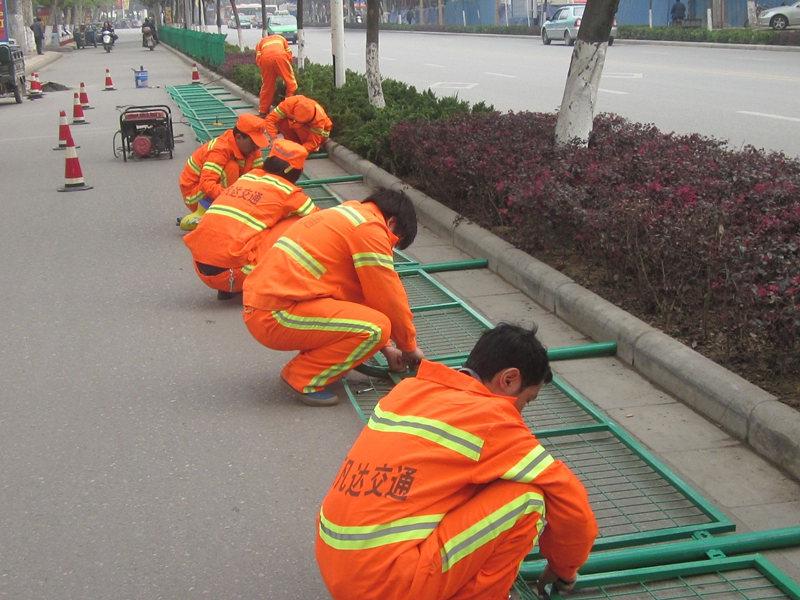 汉中道路护栏安装