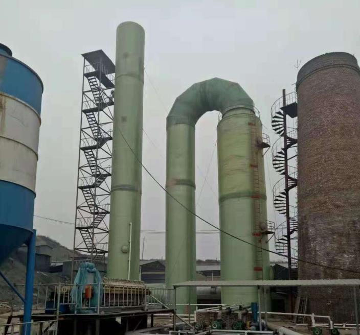 陕西泾阳2×20万日产烧结烘干砖厂设计总包:双碱法脱硫+湿电工艺