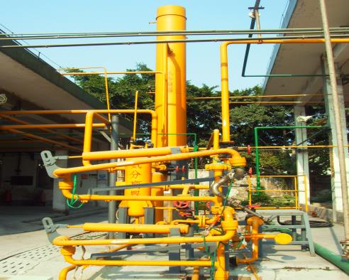 宝氮除尘脱硫脱硝 2×25吨链条炉电除尘+双碱法+SCR液氨脱硝