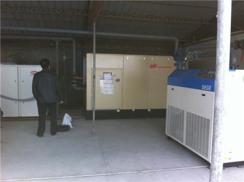 西安空压机客户案例工厂展示