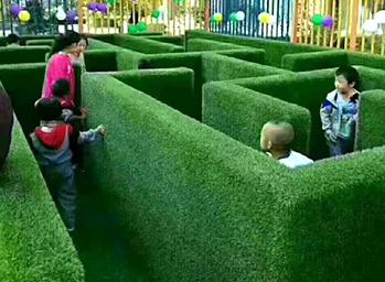游乐园仿真草坪案例