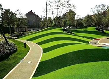 公园人造草坪案例
