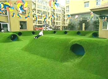 幼儿园人造草坪案例