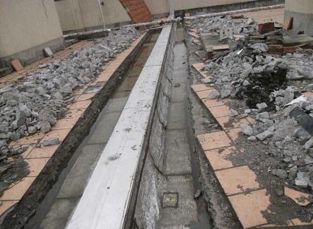 高低跨屋面伸缩缝部位