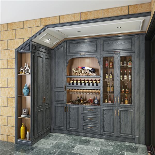 家中定制酒柜怎样设计?才能精致美观,还不占空间?