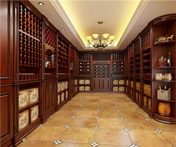 欧式酒柜定制设计