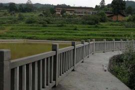 四川青石栏杆案例
