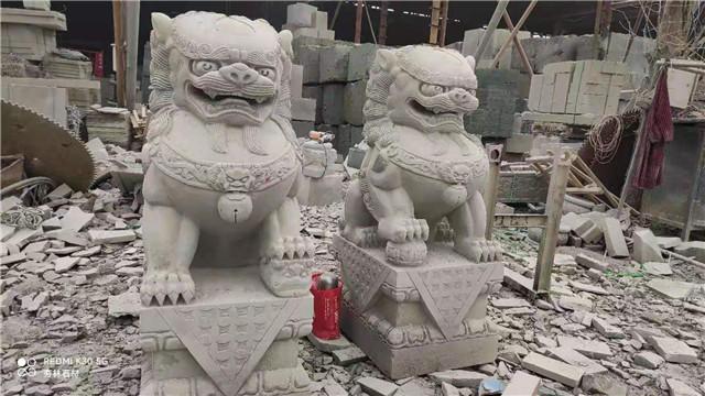 四川石狮子雕刻