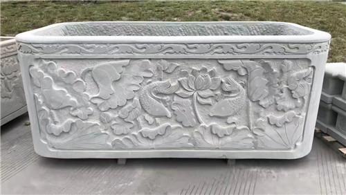 四川青石雕刻-水缸