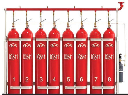 IG541混合气体灭火装置