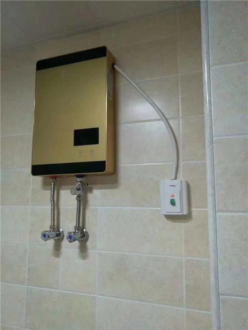 河南磁能即热式热水器合作案例