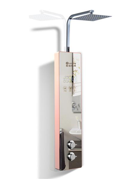 河南集成式沐浴屏-短款淋浴屏A1镜面