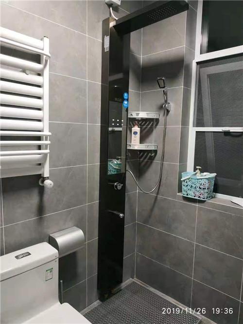 河南集成式沐浴屏客户使用案例