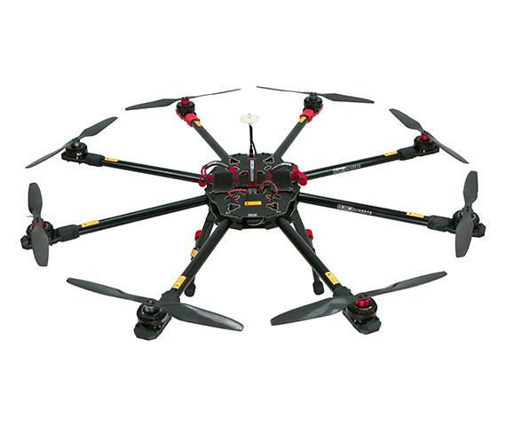 八轴电力架线无人机
