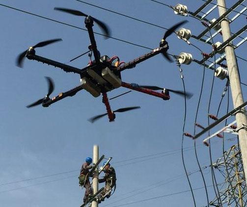 成都电力架线无人机,你了解多少呢?