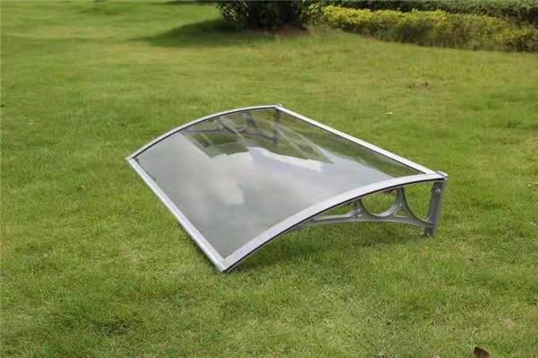 阳光板支架雨棚工程案例