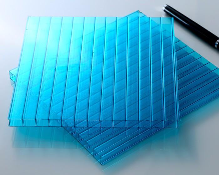 阳光板-湖蓝