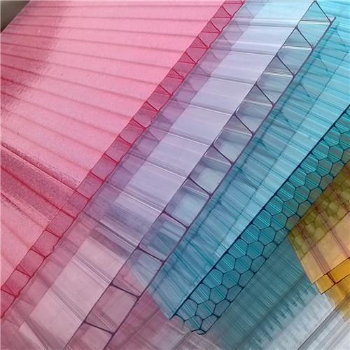 西安阳光板类型的选取和板材的搭接固定方式