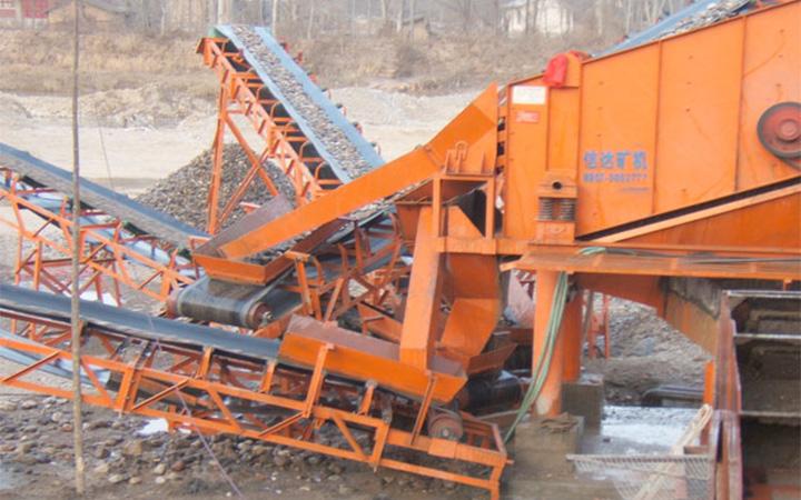 成都轴承案例-砂石厂专用轴承