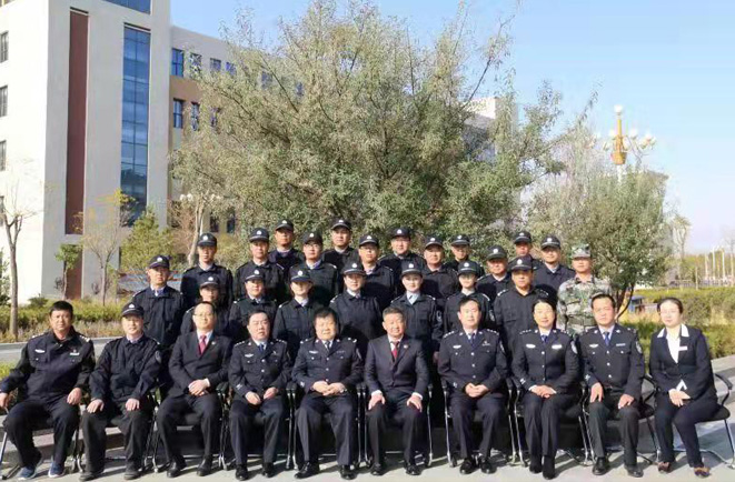 银川市检察院2019年军事化培训