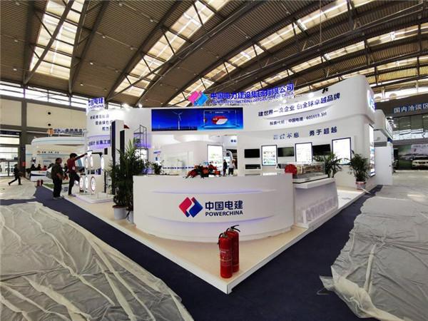 中国电建展台搭建