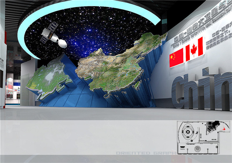 中国加拿大国际展览中心展厅