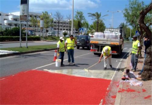 环氧彩色防滑路面施工工艺