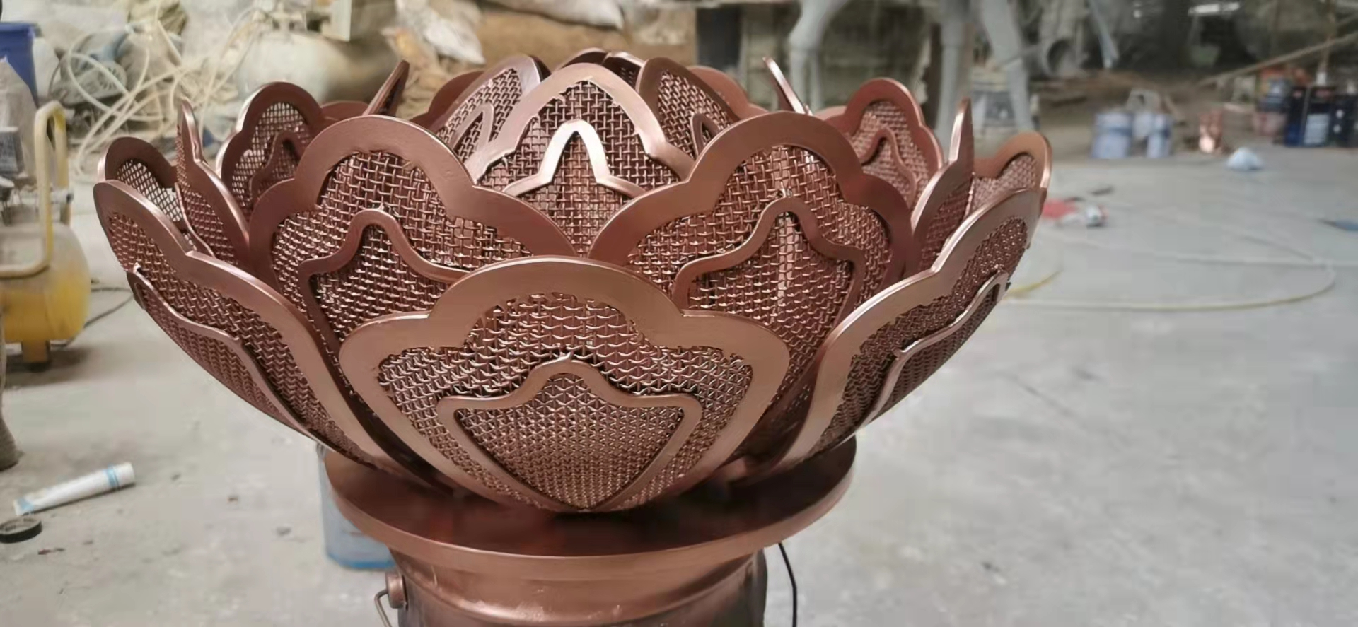 你知道不锈钢雕塑的制作过程么?本文给你讲解