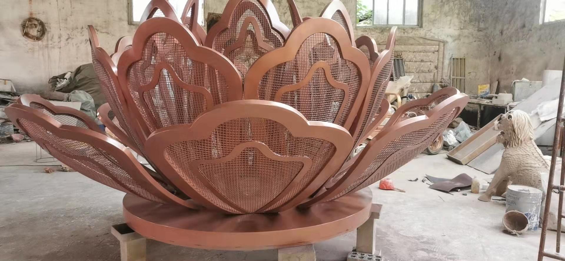 河南不锈钢雕塑制作
