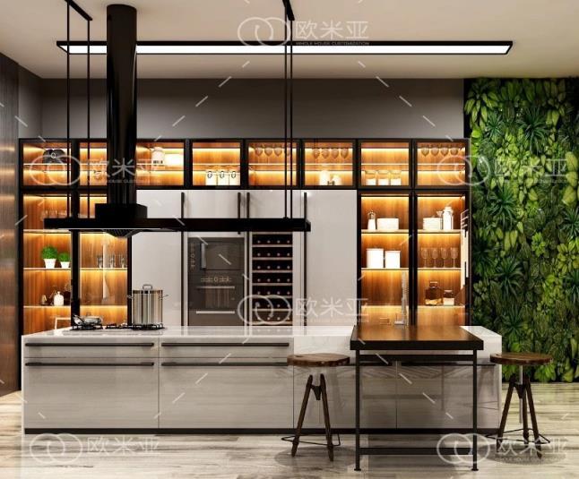 家中定制酒柜怎样设计?才能既美观,还能节省空间?