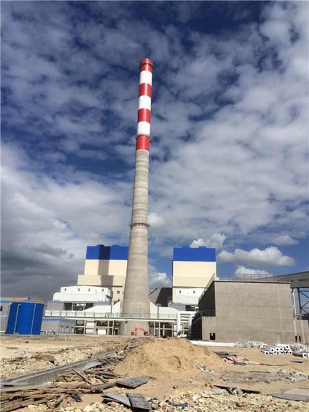 越南2×622MW火电工程210米烟囱