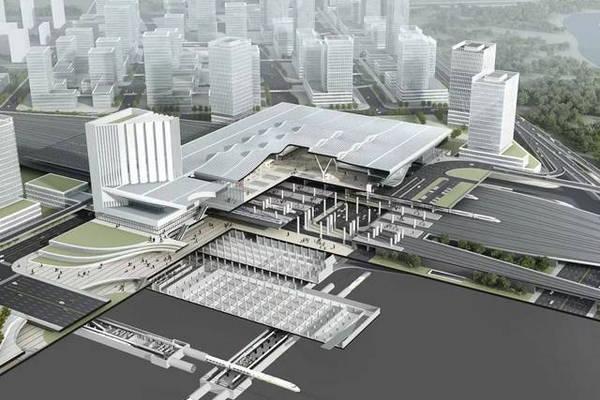 中国三冶中标安徽新合肥西站综合开发及东广场工程