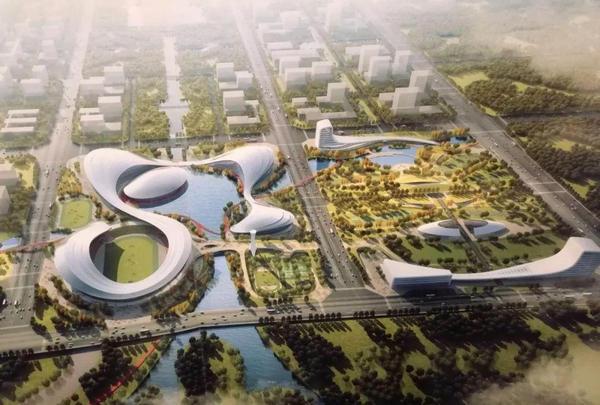 中冶钢构中标河南洛阳奥林匹克中心项目钢结构工程