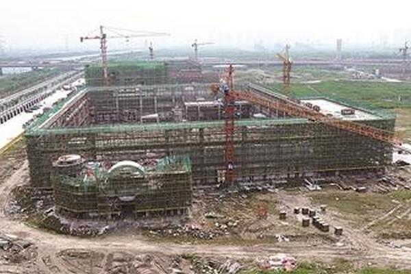 中国三冶中标湖北荆州复兴之路爱国主义教育基地项目