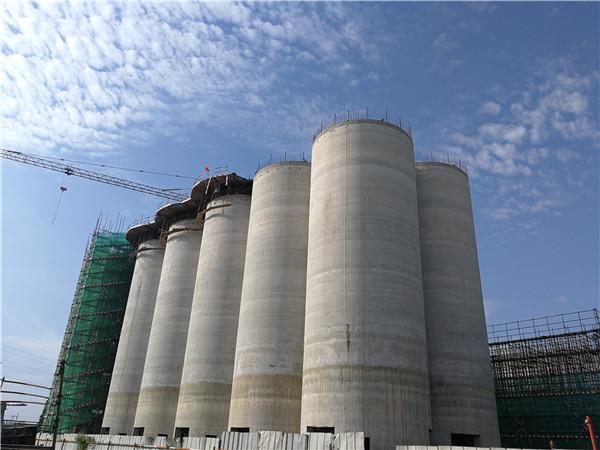 河南粮仓滑模施工完成之后的拆除工作该如何进行