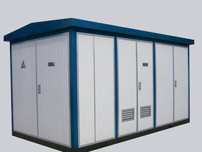 金属喷塑组合箱式变电站