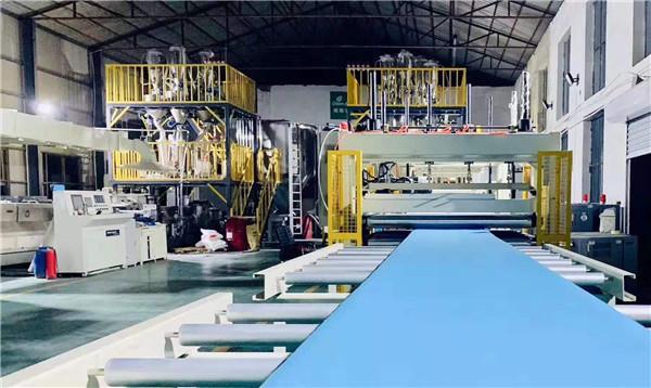 河南XPS挤塑板工厂实景