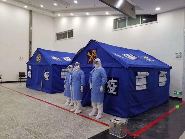 满洲里加紧建设备用医院,预计4月14日投入使用