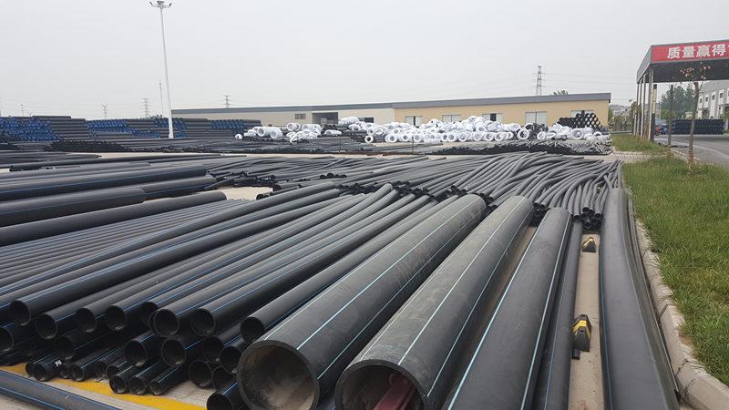 聚乙烯管材厂区