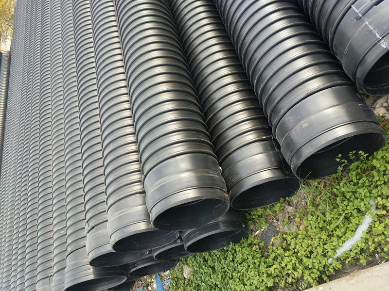 西安钢带螺旋波纹管厂家